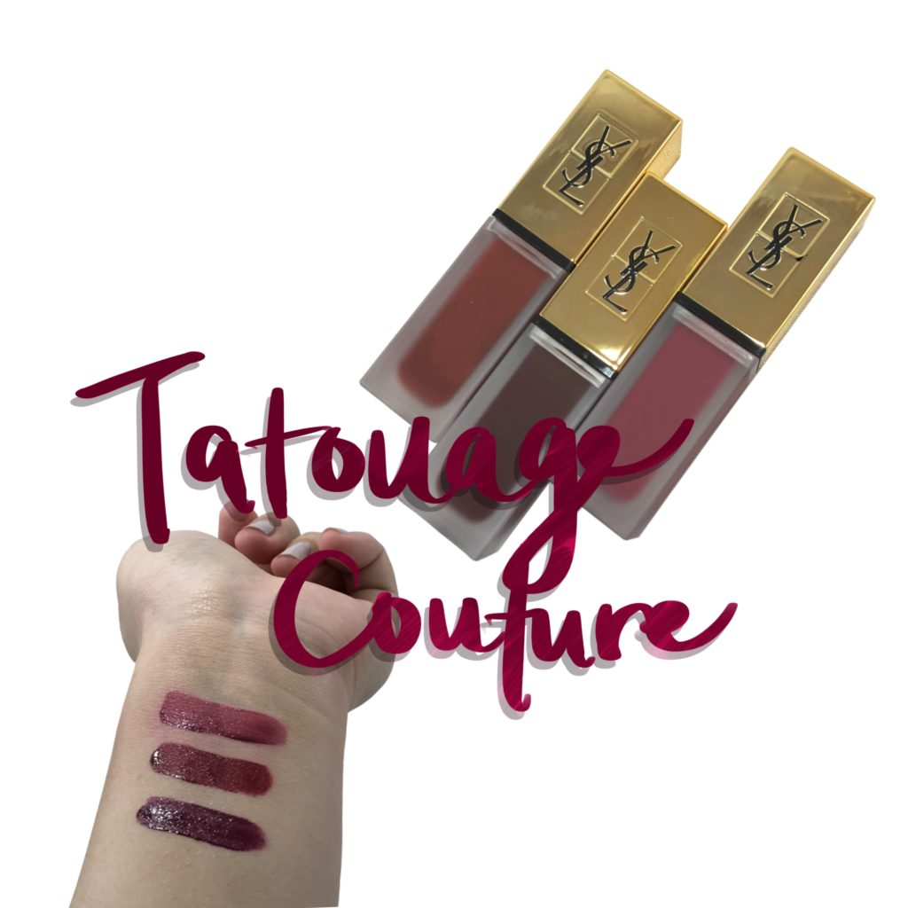 Swatches Amp Review Ysl Tatouage Couture Matte Lip Stain